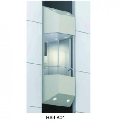 Thang lồng kính Hs-LK01