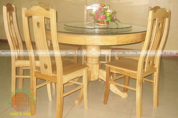 Bộ bàn ăn tròn 6 ghế EPA-105